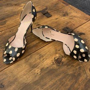 Kate Spade peep toe shoe